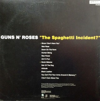 Guns´n´Roses - The Spaghetti Incident? [LP] - 180 Selo Fonográfico