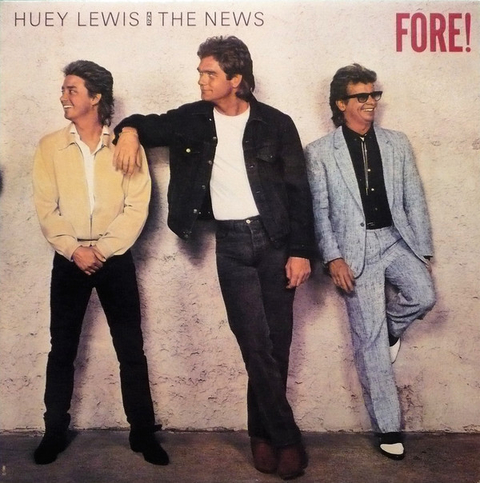 Huey Lewis & The News - Fore! [LP]