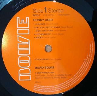 David Bowie - Hunky Dory [LP] na internet