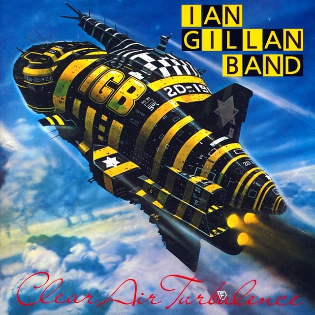 Ian Gillan Band ‎– Clear Air Turbulence [LP]