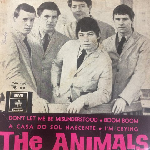 The Animals ‎– The Animals [Compacto]