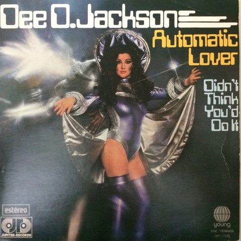 Dee D. Jackson ‎– Automatic Lover [Compacto]
