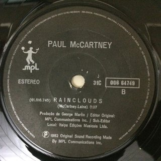 Paul Mccartney - Ebony And Ivory [Compacto] - 180 Selo Fonográfico