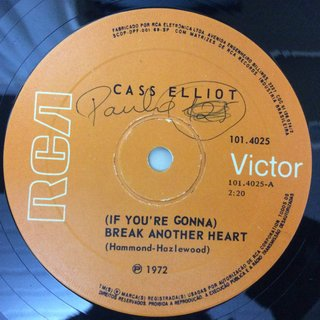 Cass Eliot - (If you're Gonna) Break Another Heart [Compacto] - comprar online