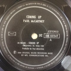 Paul Mccartney - Coming Up [Compacto]