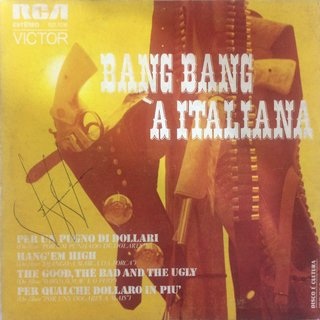 Bang Bang À Italiana - Per Un Pugno Di Dollari/The Good, The Bad And The Ugly [Compacto] - comprar online