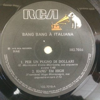 Bang Bang À Italiana - Per Un Pugno Di Dollari/The Good, The Bad And The Ugly [Compacto] na internet