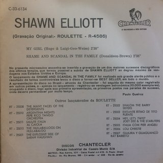 Shawn Elliot - My Girl/Shame And Scandal In The Family [Compacto] - comprar online