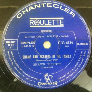 Shawn Elliot - My Girl/Shame And Scandal In The Family [Compacto] - 180 Selo Fonográfico