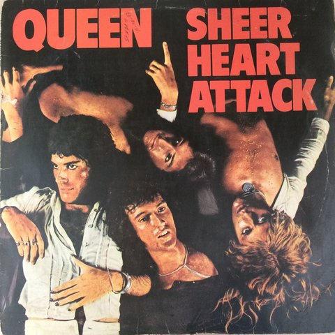 Queen ‎– Sheer Heart Attack [LP]