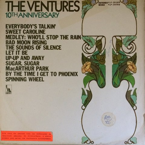 Ventures ‎– 10th Anniversary [LP]