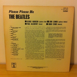Beatles - Please Please Me [LP] - 180 Selo Fonográfico