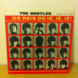 Beatles - Os Reis do Ié, Ié, Ié! (A Hard Day's Night) [LP] na internet