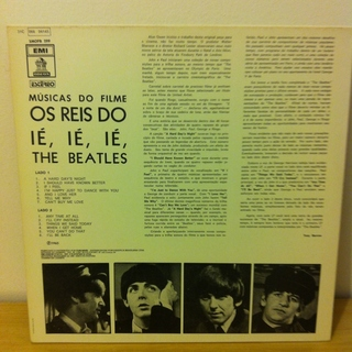 Beatles - Os Reis do Ié, Ié, Ié! (A Hard Day's Night) [LP] - 180 Selo Fonográfico
