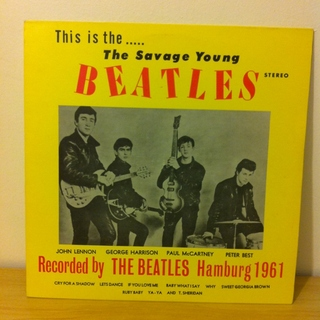 Beatles - The Savage Young Beatles: Hamburg 1961 [LP] na internet