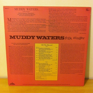 Muddy Waters - Folk Singer [LP] - 180 Selo Fonográfico