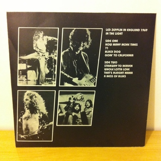 Led Zeppelin - In The Light 1969 [LP] na internet