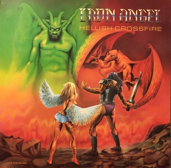 Iron Angel - Hellish Crossfire [LP]  - comprar online