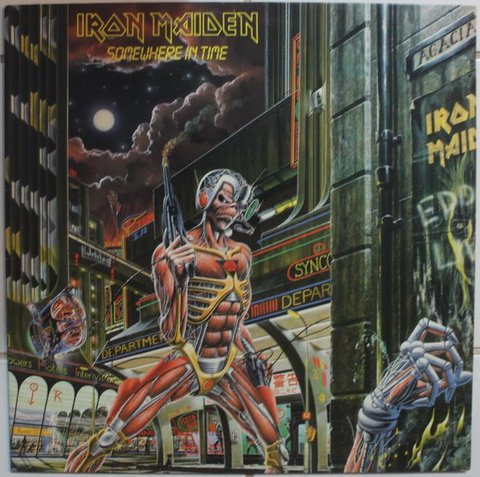 Iron Maiden - Somewhere In Time [LP] - comprar online