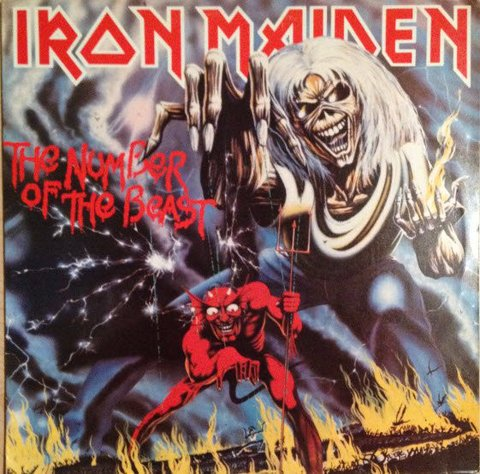 Iron Maiden - The Number Of The Beast [LP]