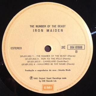 Iron Maiden - The Number Of The Beast [LP] - loja online