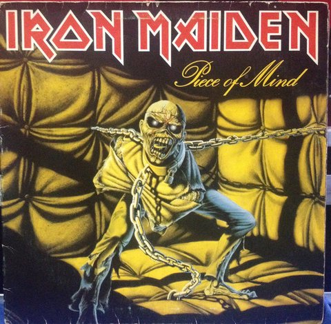 Iron Maiden - Piece Of Mind [LP]
