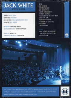 Jack White - Acoustic Tour 2015 [Box 2 LPs + DVD + Livro]
