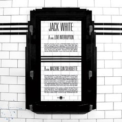 Jack White - Love Interruption / Machine Gun Silhouette [Compacto]