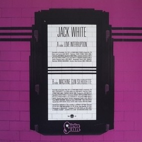 Jack White - Love Interruption (Plum Series Limited Edition) [Compacto] na internet