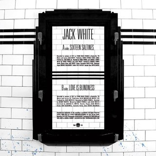 Jack White - Sixteen Saltines / Love Is Blindness [Compacto] - comprar online