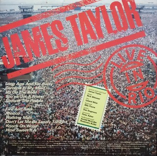 James Taylor - Live In Rio [LP] na internet