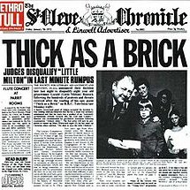 Jethro Tull ‎– Thick As A Brick [LP]