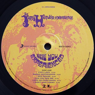 Jimi Hendrix Experience - Are You Experienced? [LP Duplo] - 180 Selo Fonográfico