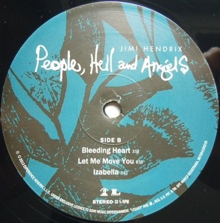 Jimi Hendrix - People, Hell and Angels [LP Duplo] - 180 Selo Fonográfico