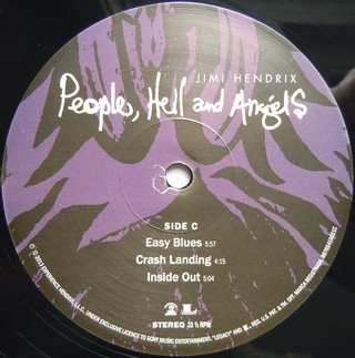 Jimi Hendrix - People, Hell and Angels [LP Duplo] - loja online
