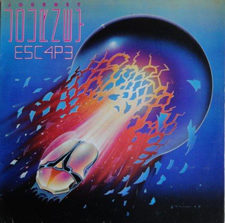 Journey - Escape [LP] - comprar online