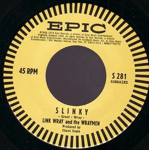 Link Wray & The Wraymen - Slinky / Rendezvous [Compacto] na internet