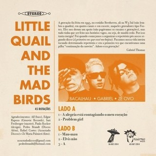 Little Quail and The Mad Birds - Little Quail and The Mad Birds [Compacto] na internet