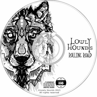 Lowly Hounds - Rolling Road EP [CD] - 180 Selo Fonográfico