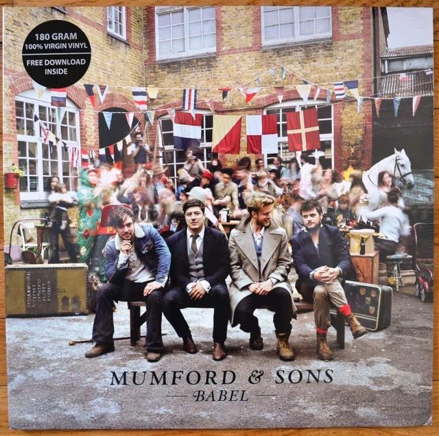 Mumford & Sons ‎- Babel [LP + MP3]