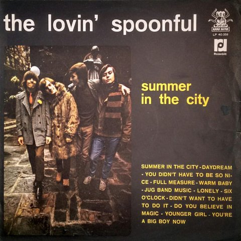 The Lovin' Spoonful ‎– Summer In The City [LP]