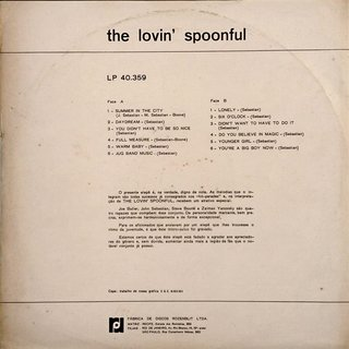 The Lovin' Spoonful ‎– Summer In The City [LP] - comprar online