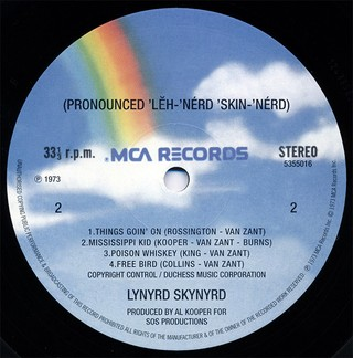 Imagem do Lynyrd Skynyrd - Pronounced 'Lĕh-'nérd 'Skin-'nérd [LP]