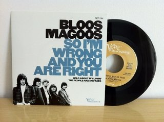 Bloos Magoos - So I'm Wrong and You Are Wright [Compacto] - 180 Selo Fonográfico