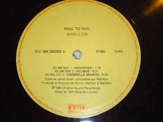Marillion ‎– Real To Reel [LP] na internet