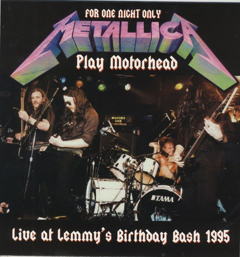 Metallica - For One Night Only Play Motorhead: Live at Lemmy's Birthday Bash 1995 [LP] - comprar online