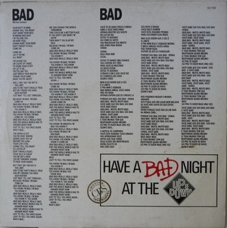 MIchael Jackson - Bad [Maxi single]  na internet