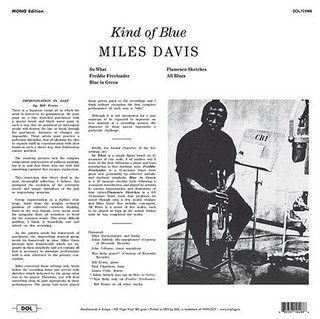 Miles Davis - Kind Of Blue [LP] na internet