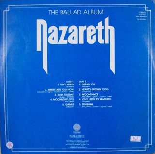 Nazareth ‎– The Ballad Album [LP] - comprar online