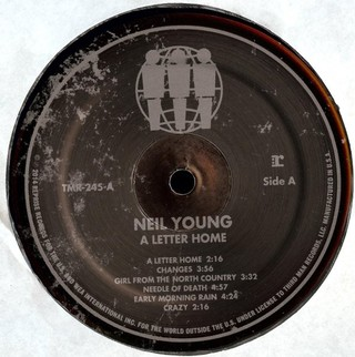 Imagem do Neil Young - A Letter Home [LP]
